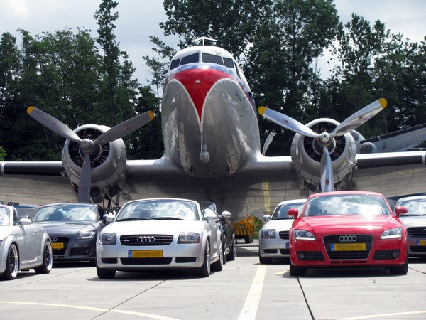 22ste Audi TT Club Meeting Aviodrome
